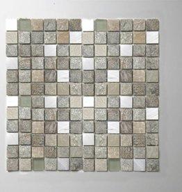 Cascara Mix Mosaikfliesen 1. Wahl in 30x30 cm