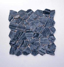 Stone pierre naturelle Mosaïque Carrelage 1. Choice dans 30x30x1 cm