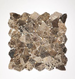 Castanao Natural stone mosaic tiles 1. Choice in 30x30x1 cm