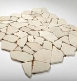 Biancone kamienia naturalnego mozaiki