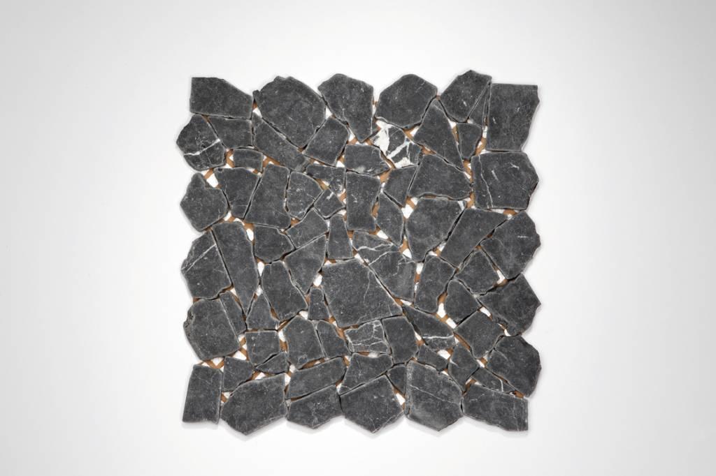 Nero Marquina Naturstein Mosaikfliesen