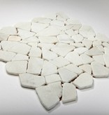 Bianco Carrara Natuursteen Mozaïek Tegels