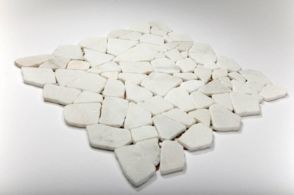 Bianco Carrara Naturstein Mosaikfliesen