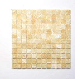 Elegance Gold Naturstein Mosaikfliesen 1.Wahl in 30x30 cm