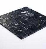 Elegance Zwart Natuursteen Mozaïek Tegels