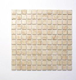 Rosa Perlino pierre naturelle Mosaïque Carrelage 1. Choice dans 30x30x1 cm