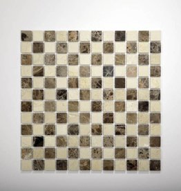 Florence Naturstein Mosaikfliesen 1.Wahl in 30x30 cm