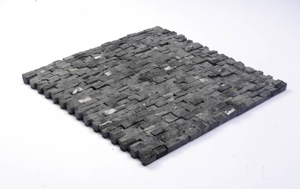 Minibricks Nero Natuursteen Mozaïek Tegels
