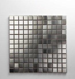 Iron Edelstahl Metall Mosaikfliesen 2,3x2,3 1.Wahl Premium Qualität in 30x30 cm