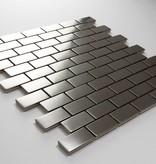 Iron Roestvrij Metaal Mozaïek Tegels