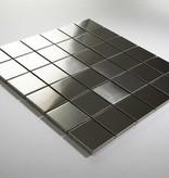 Iron Acier Inoxydable Metal Mosaïque Carrelage