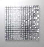 Novo Zilver Metaal Mozaïek Tegels
