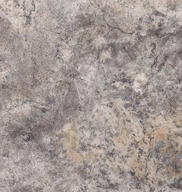 Travertine Tiles Silver Roman Association 1.Choice Premium Quality 1.2 cm in thickness