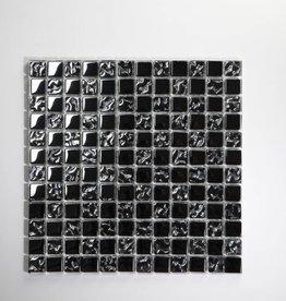 Perlmutt Metaal Glas Mozaïek Tegels 1. Keuz in 30x30x1 cm