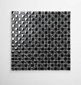 Perlmutt szklana mozaiki 1 Wybór 30x30x1 cm
