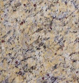 Giallo Cecillia Granitfliesen Poliert, Gefast, Kalibriert, 1.Wahl Premium Qualität in 61x30,5x1 cm