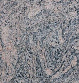 Juparana China Dalles en granit poli, chanfrein, calibré, 1ère qualité premium de choix dans 61x30,5x1 cm