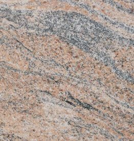 Juparana India Granite Tiles Polished, Chamfer, Calibrated, 1st choice premium quality in 61x30,5x1 cm