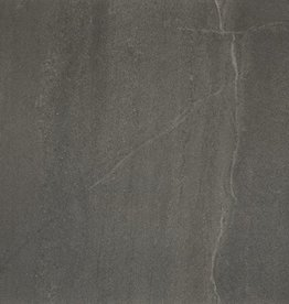 Terrassenplatten Feinsteinzeug Calcare Black 1. Wahl in 60x60x2 cm