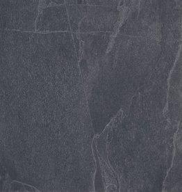 Terrassenplatten Feinsteinzeug Slate Nero 1. Wahl in 60x60x2 cm