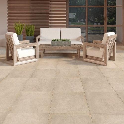 Concrete Sabbia Outdoor Tiles