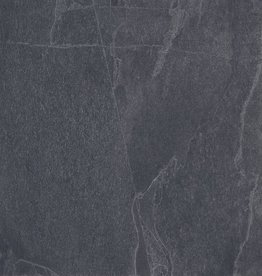 Terrassenplatten Feinsteinzeug Slate Black 1. Wahl in 45x90x2 cm