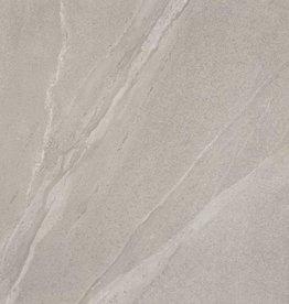 Terrassenplatten Feinsteinzeug Calcare Grey 1. Wahl in 45x90x2 cm