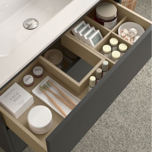 Bathroom Furniture Vista 600 Mattblack