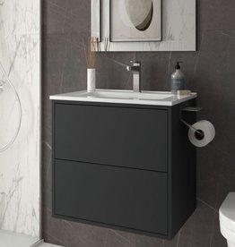 Bathroom complete set Vista 600 Matt Black