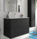 Bathroom complete set  Vista 800 Matt Black