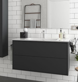 Bathroom complete set  Vista 1000 Matt Black