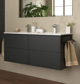 Bathroom Furniture Vista 1200 Mattblack