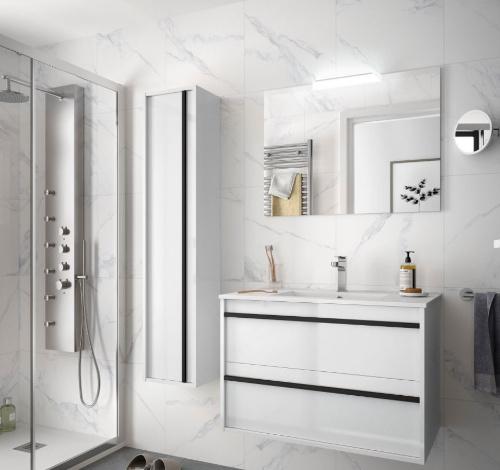 Badmöbel Infinity 800 White Glossy