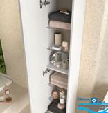 Bathroom complete set  Infinity 600 White Glossy