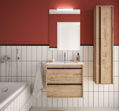 Bathroom complete set  Infinity 600 Ostippo Oak