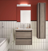 Bathroom complete set  Infinity 600 Eternity Oak