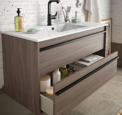 Bathroom complete set  Infinity 800 Eternity Oak