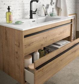 Badmöbel Komplett-Set Infinity 800 Ostippo Oak