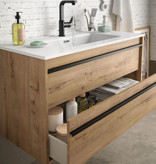 Bathroom complete set  Infinity 1000 Ostippo Oak