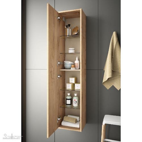 Badmöbel Komplett-Set Infinity 1200 Ostippo Oak
