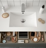 Bathroom Koja 600 Matt Grey 1 drawer