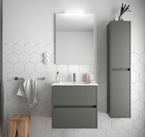 Bathroom Koja 600 Matt Grey