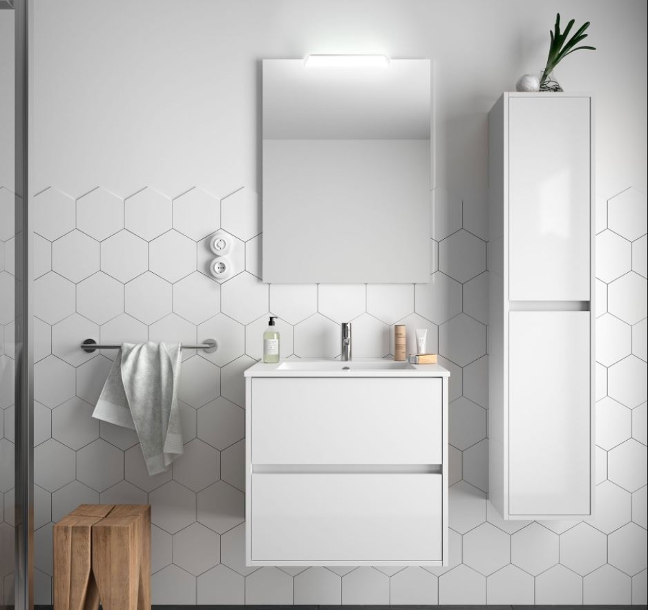 Bathroom Koja 600 White Glossy