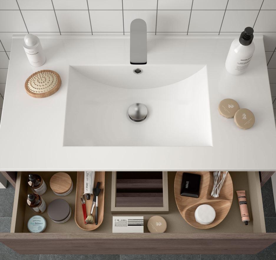 Bathroom Koja 800 Eternity Oak 1 drawer