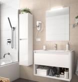 Bathroom Koja 800 White Glossy 1 drawer