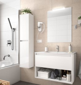 Bathroom Complete set Koja 800 White Glossy 1 drawer