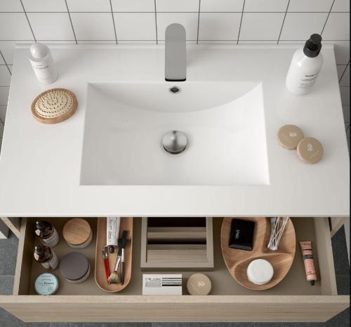 Bathroom Complete set Koja 800 Natural Oak