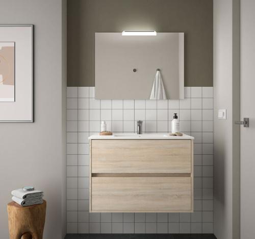 Bathroom Complete set Koja 1000 Natural Oak