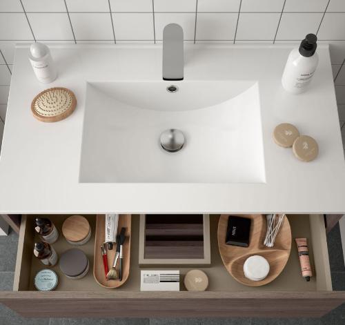 Bathroom Complete set Koja 1000 Eternity Oak 1 drawer
