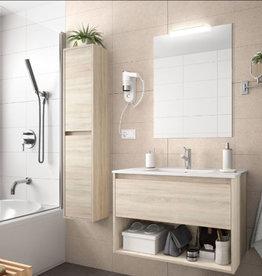 Bathroom Complete set Koja 1000 Natural Oak 1 drawer